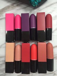 $enCountryForm.capitalKeyWord Canada - In stocking !Hot brand M*c matte lipstick makeup lip gloss 6 colors top quality free shipping