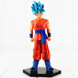 Free Goku Figures UK - 17.5cm Dragon Ball Z DXF Son Goku PVC Action Figure Collectable Model Toy for kids gift free shipping retail