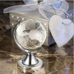 $enCountryForm.capitalKeyWord Australia - Wedding Gifts Crystal Glass Globe world map Ball Handmade Feng shui decorative Glass world globe Balls Office Home Decor Craft