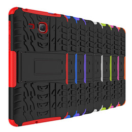 Wholesale galaxy s3 covers resale online - Dazzle Hybrid KickStand Impact Rugged Heavy Duty TPU PC Cover Case FOR Samsung Galaxy Tab E T560 A T580 T550 Tab S2 T810 S3 P