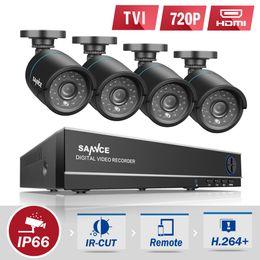 $enCountryForm.capitalKeyWord Canada - cctv wireless camera wifi SANNCE 8CH CCTV System 4 in 1 DVR 4PCS 720P IR Weatherproof Outdoor Camera Home Security System
