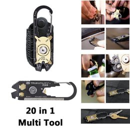 Wholesale Portable Utility FIXR in Pocket Multi Tool Bottle Opener Keychain Screwdriver EDC Outdoor Gadget Camping Hiking Tools