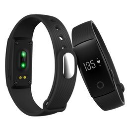 swatch touch 2019 - Fitbit Smart Watch ID107 Bluetooth 4.0 Smart Bracelet with Heart Rate Monitor Fitness Tracker Sports Wrist Watches for A