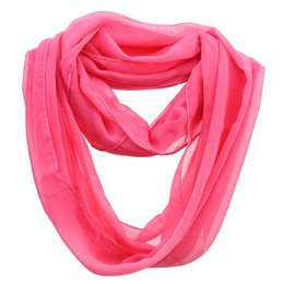 Foreign Scarves Canada - Miyu Classic Monochrome Black Chiffon Foreign Trade Scarf Silk 3 Color Optional Shawl Scarfs For Women Arab Shemagh Muslim Scarves