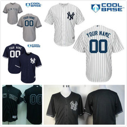 087ba791d ... Alternate Cool Base Stitched mens womens youth New York Yankees Custom  Cool Base Gray Road Home White Navy Blue Womens Authentic Grey Majestic  Jersey ...