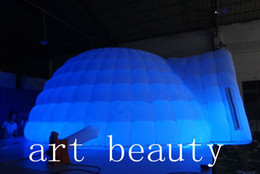 $enCountryForm.capitalKeyWord Australia - Party wedding use LED igloo inflatable dome tent for outdoor and indoor