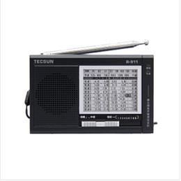 wholesale voque and nice full brand tecsun r 911 fm mw sw compact multi bands fm portable radio for bathroom tecsun radio receiver - Bathroom Radio