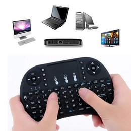 $enCountryForm.capitalKeyWord NZ - 2.4G Wireless Mini Keyboard Air Mouse Multi-Media Player Remote Control Touchpad for Smart TV Android Box PC Rechargable Li-ion Battery