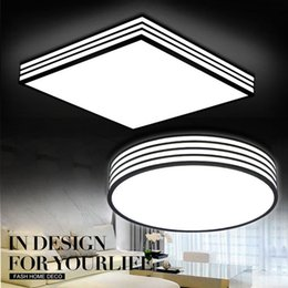 Super Bright Round Square Dimmable LED Ceiling Lights 24W 36W For Home  Office Living Room Bedroom Kitchen Dinning Room
