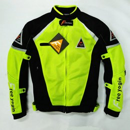 Breathable Summer Motorcycle Jackets Australia - New model free yogin breathable oxford motorcycle off-road jackets riding jackets racing clothing windproof have protection 2 colors