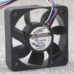 ADDA AD5005HB-D7B 5015 50*50*15mm DC 5V 0.30 a 5cm 4P PWM охлаждающий вентилятор