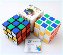 Wholesale 250pcs Third-order 5.6X5.6X5.6 Rubics Magic Cube Professional Speed Square Cube Puzzle Cube With Stickers Kids Brain Teaser Cubo Magico Toys