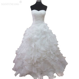 Lace country pLus size wedding dress online shopping - 2018 New Design Ruffles Tiered Skirt Country Wedding Dresses Bridal Dresses And Floor length Multi Layers Garden Bohemian Wedding Gowns