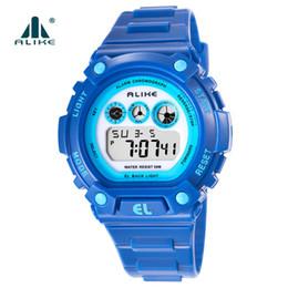 black white g shock watch 2019 - Best Selling Children Sport Watches Rubber Strap Multi Color Alarm 50Meter Water Resistant Quartz Digital G Style Shock