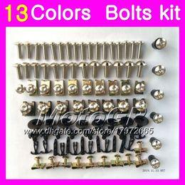 body kits for hayabusa 2019 - Fairing bolts full screw kit For SUZUKI Hayabusa GSX R1300 GSXR1300 08 09 10 12 2008 2009 2010 2012 Body Nuts screws nut
