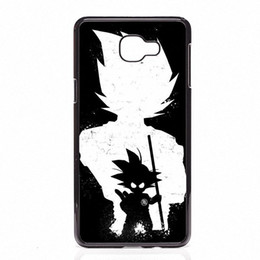Chinese  DRAGON BALL Z Super Saiyan God Son Goku Phone Covers Shells Hard Plastic Cases For Samsung Galaxy A3 A5 A7 A8 2015 2016 2017 manufacturers