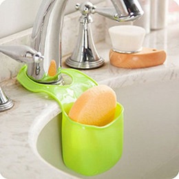 Bathroom Tools Canada - Easy to use High Quality rangement cuisine Folding Silicone Hanging Storage Holders Kitchen Bathroom Storage Holders & Racks