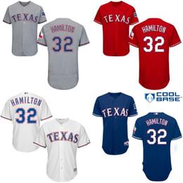 2017 new season texas rangers 32 josh hamilton jersey mens 100 stitched  embroidery ... c8244df24