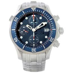 Ship Free Mens Wrist Watches Australia - Free shipping Steel bracelet Professional Watch 2599.80 Automatic machinery Mens Watch Blue Luxury Men's Movement Wrist Watches