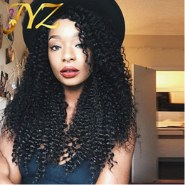 Medium Brown Curly Wig Canada - Brazilian Hair Wig With Baby Hair Cheap Lace Front Wig Curly Hair Medium Brown Lace Cap Bleached Knot Full Lace Wig