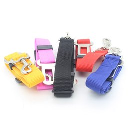 Discount universal led cover Car Pet Seat Safety Belt Universal Covers Dog Seat Belt Cat Lead Restraint Harness Car Styling High Quality 1pcs