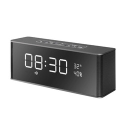 $enCountryForm.capitalKeyWord Canada - LP-06 Portable Bluetooth Speaker 10W LED Display FM Radio Alarm Clock Mic HIFI Mini Wireless Stereo Soundbar 2200mAh Better Charge 3 Xtreme