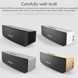 portable b speakers NZ - Bluedio BS-3 Portable Bluetooth speaker wireless Subwoofer Soundbar Revolution Magnetic driver 3D stereo music with retail box