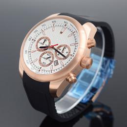 e4c9a7bafa3 ... de esportes de marcas de luxo relógios seis pinos executar calendário  segundos escudo de aço borboleta duplo snap relógio de quartzo 0781 venda  quente