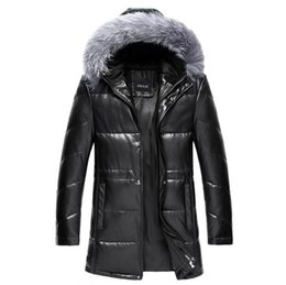 Discount Leather Goose Down Coats | 2017 Leather Goose Down Coats ...