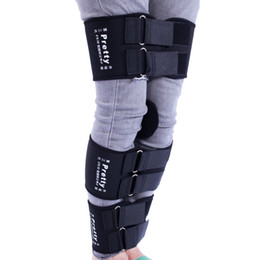 O Legs Belt Australia - Pro O X Bowed Legs Correction Belt Knock Knee Straightening Neoprene Leg Shaper Belts Set Genu Varum L XL XXL for Body Sculpting Slimming