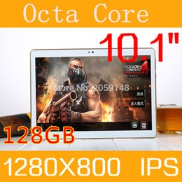 4g calling tablets 2019 - Wholesale- 2017 New 10.1 inch S108 Octa Core Ram 4GB Rom 128GB Tablet Android 6.0 Phone 4G Call Tablet PC tablette bluet