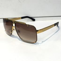 e8f8c0ded89e Luxury Retro 9913 Sunglasses Men Designer He Rimless Frame Gold Plated  Square Frame Retro Steampunk Style UV400 Lens Come With Original Case
