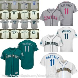 46a2b89d5 ... Jersey 2017 Mens Seattle Mariners 11 EDGAR MARTINEZ 19 JAY BUHNER 37  NORM CHARLTON 50 JAMIE MOYE ...