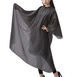 Cloth hair Cutting Capes online shopping - Salon Professional Hair Styling Cape Adult Hair Cutting Coloring Styling Cape Hairdresser Wai Cloth Barber Fashion Pattern Capes Wai Cloth