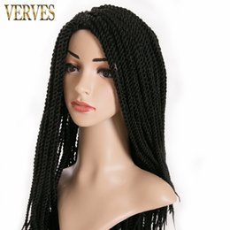 $enCountryForm.capitalKeyWord Canada - VERVE 6 pack 30 Strands pack Crotchet Braids Ombre synthetic Braiding Hair Extensions Senegalese Twist hair