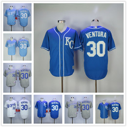 3f560c49d ... Men Kansas City Royals Jerseys 30 Yordano Ventura Jersey Flexbase Cool  Base Home Away White Red ...