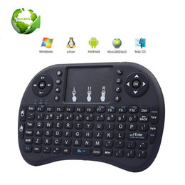 $enCountryForm.capitalKeyWord UK - Rii I8 Fly Air Mouse Handheld 2.4GHz Wireless Mini Keyboard Touchpad Remote Control For MX CS918 MXIII M8 TV BOX Game Play Tablet Mini PC