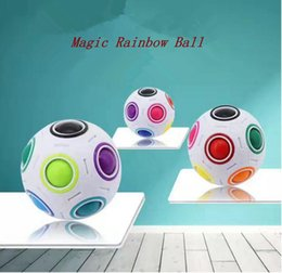 $enCountryForm.capitalKeyWord NZ - Rainbow Ball Magic Cube Speed Football Fun Creative Spherical Puzzles Kids Educational Learning Toy game for Children Adult Gifts