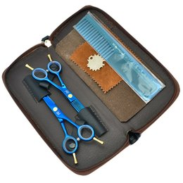 "Edging Shears Canada - 5.5"" New Meisha Hair Scissors Set Professional Hair Cutting Scissors Thinning Shears Barber Hairdressing Scissors Sharp Edge Shears, HA0007"