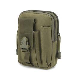 $enCountryForm.capitalKeyWord UK - For iPhone Samsung LG Universal Outdoor Tactical Holster Military Molle Hip Waist Belt Bag Wallet Pouch Phone Case Zipper
