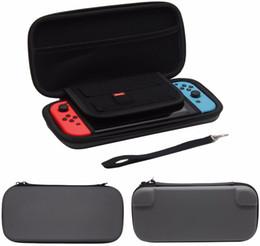 Discount hard carry case for nintendo Gamepad Box For Nintend Switch Hard Box Bag Travel Carrying Hard Cover Case For Nintendo Switch NS NX Protective Bag Pou