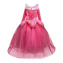 $enCountryForm.capitalKeyWord Canada - Princess Christmas Aurora Girl Dress Kids Cosplay Dress Halloween Costumes For Kids Girls Tulle Party Dress 4-10 Years Birthday