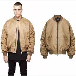 Khaki Bomber Jacket Men Online | Khaki Bomber Jacket Men for Sale
