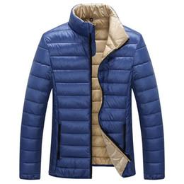 $enCountryForm.capitalKeyWord Canada - Mens Duck Down Jacket Autumn Winter Jacket Men Ultralight White Duck Down Jacket Men Outdoors Lightweight Coats Parka Size M-3XL