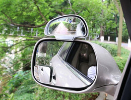 $enCountryForm.capitalKeyWord NZ - Car Mirror Blind Spot glass Side Wide Angle Auto Rear View Adjustabe for parking universal slivery black white option