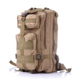 Camouflage Camping gear online shopping - Tactical Outdoor Sport Backpack Rucksacks Camping Hiking Mens Bag Nylon Adventure Tactical Gear Camouflage Army Waterproof Backpacks