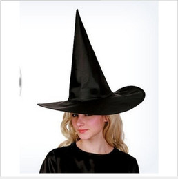 Cool spring hats for boys online shopping - Cool Halloween Black Witch Hat Oxford Costume Party Props Harry Potters Hat for Adult Cosplay Xmas Party Hats