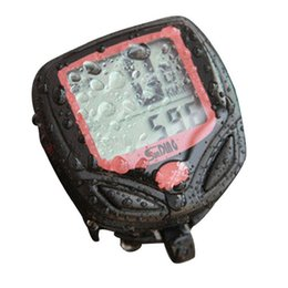 Wired Speedometer Australia - Cycling Bicycle Computer Leisure 14-Functions Waterproof Cycling Odometer Speedometer With LCD Display Cycle Bike Computers
