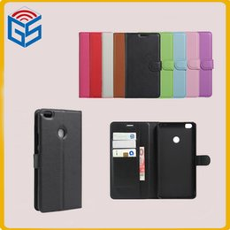 Wholesale high quality pu leather for mi max prime flip cover wallet case with card holder for xiaomi mi max
