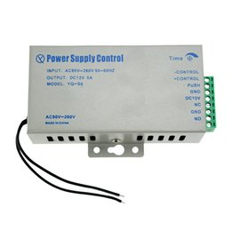 $enCountryForm.capitalKeyWord NZ - Wholesale- Best price of DC12V 5A power supply with high quality for access control system kit switch electronic power AC90V-260V